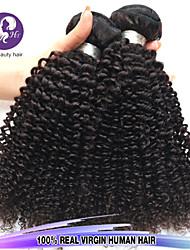 """3 PC / porción 12 """"-24"""" virgen color del pelo 1b rizada rizada del pelo humano sin procesar brasileño teje la venta caliente."""