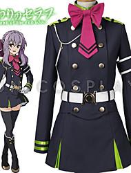 Inspirado por Seraph del Fin Hiiragi Tsukasa Animé Disfraces de cosplay Trajes Cosplay Top Falda Cinturón Lazo Más Accesorios ParaHombre