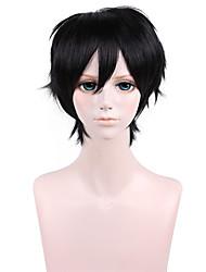 13inch AO keine Exorcist-Rin Okumura black anime cosplay Perücke qy-026