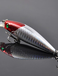 Red Green Eye Mino False Bait way 8.5 cm 10g Laser Mino Hard Bait Bait Fishing Bait