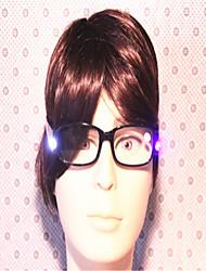 nuevas luces LED cuelgan dejar de látex con el cuello del viejo lente.