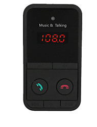Wireless Bluetooth Car Kit Handsfree FM Transmitter
