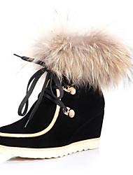 KOMANIC Women's Leather Boots
