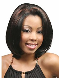 New Arrival Fashion Mix Color Wig Middle Long Straight Woman's Synthetic Wigs Hair Wig for Daily