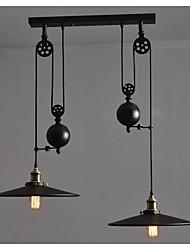 Lámparas Colgantes ,  Retro Pintura Característica for Mini Estilo MetalSala de estar Dormitorio Comedor Cocina Habitación de