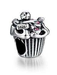 Armbänder Strang-Armbänder Sterling Silber Hochzeit / Party / Alltag / Normal / Sport Schmuck Geschenk Silber,1 Stück