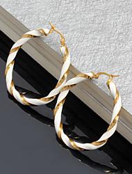 Women`s Cute  Party  Work  Casual Titanium Steel Stud Earrings