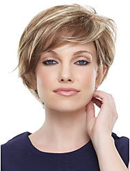 Hot Selling Lady Wigs Mix Color Synthetic Hair Wigs