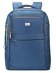 Unisex - Rucksack / Laptop Tasche - Polyester - Bucket Bag - Blau / Schwarz