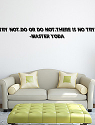 W-16Star Wars Wall Art Sticker Wall Decal DIY Home Decoration Wall Mural Removable Bedroom Sticker