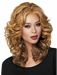 Ladys'  Blend  Short Synthetic Hair Wave Wigs Extensions Enough Stock