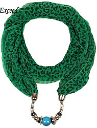 D Exceed Free Shipping 2015 New Fashion Winter Green Jewelry Scarf Infinity Scarfs Loop Snood For Woman/Ladies