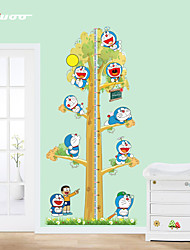 Cartoon  Height Measurement Wall Sticker Kindergarten Children's Room   Wall Decoration
