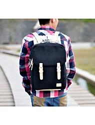 Синий / Черный - Рюкзак - Для мужчин - Полотно - Сумка-мешок