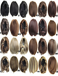 novo clipe sintético em placas de extensão bun cabelo ondulado cabelo almofada de rolo e anel coque rosquinha peruca perucas bandana
