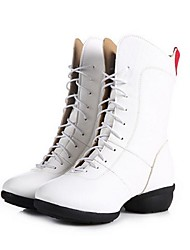 Sapatos de Dança (Preto / Vermelho / Branco) - Mulheres - Não Personalizável - Moderno