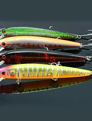 """4 pcs Harte Fischköder / kleiner Fisch Verschiedene Farben 13.8 g/1/2 Unze,120 mm/4-3/4"""" Zoll,Fester KunststoffSeefischerei / Angeln"""