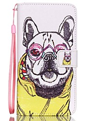 HZBYC®Shar Pei Pattern PU Material Card Lanyard Case for Galaxy Note 5