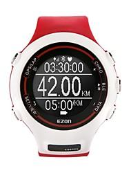 Masculino / Mulheres / Unissex Relógio de Pulso DigitalLED / Régua Deslizante / Calendário / Cronógrafo / Impermeável / Monitor de