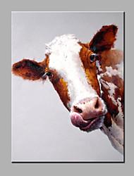 одного современного абстрактного чистого ничья рука готовы повесить коровье декоративный маслом