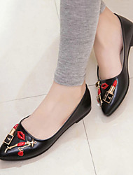 Women's Shoes Vogue Character All Match Pointed Toe Flat Comfort Flats