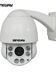 ZONEWAY ZW-NC870M-P Outdoor 1080P HD 2.0 Megapixels PTZ IR Speed Dome Camera/10X Optical/50M Night Vision
