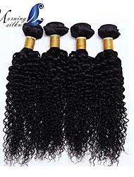 # 1 crespe brasiliane 4pcs capelli ricci economici 6a veri capelli vergini brasiliani fasci ricci Capelli brasiliani