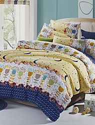 Garden Bedsheet Pillowcases Duvet Cover