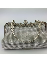Women Other Leather Type Formal Evening Bag Gold / Silver / Black