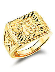 Happy Men 24 K Gold Ring