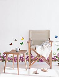 Natale / Floreale / Vacanze / Paesaggio Adesivi murali Adesivi 3D da parete , pvc 35x50x0.1cm