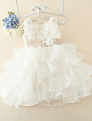 Girl's Flower Dress Tutu Cake Party Pageant Wedding Bridesmaid Princess Children  Dresses