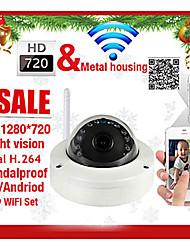 szsinocam® Dome IP Camera 720P IR-Cut Night Vision Motion Detection P2P Wireless