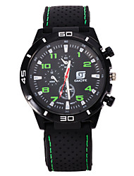 Мужской Спортивные часы Кварцевый / силиконовый Группа Повседневная Черный марка