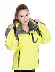 Women Outdoor Sports  Soft Shell Jacket Ski /Climbing Jacket Polar Fleece (2 Piece = Soft Shell Jacke + Liner Jacket)