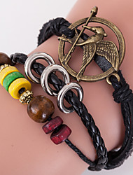Multilayer Laugh Birds Weave Bracelet,The Hunger Games