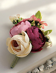 Wedding Flowers Free-form Roses Boutonnieres