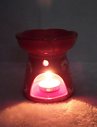 Valentine'S Day Creative Romantic Wedding Arts Crafts Gift Europe Type Ceramic Aroma Stove Candlestick
