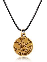 Designer Jewelry Vintage Flower Pendant Necklace