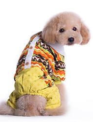 Dog Costume / Coat / Clothes/Jumpsuit Multicolored Winter StarsCosplay / Holiday / New Year's / Camouflage / Keep Warm / Fashion /