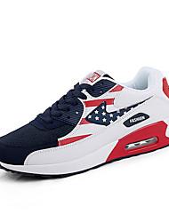 Running Shoes Men's Shoes Air Cushion Sport Casual Fashion Shoes Bule/Gray/Black white