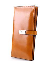 Minaudière / Portefeuille / Etui à Carte & Pièce d'Identité / Porte-chéquier / Mobile Bag Phone - Double Portefeuille -Bleu / Marron /
