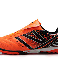 Zapatos Fútbol Sintético Negro / Naranja Mujer