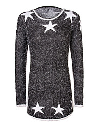 Women's Print Pullover Sweater Hot Sale New Fashion Sweater