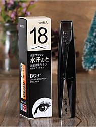 Lápis de Olho Lápis Molhado Impermeável / Natural / Secagem Rápida / Sensibilidade e Vermelhidão Preta Olhos 1 1 Others