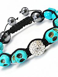 strand perlas braceletsjewelry pulseras para las mujeres nuevas pulseras de la bola de discoteca de la CZ micro pavimenta el grano 10mm xb-18