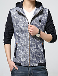 New winter Men's fashion long-sleeved jacket coat leisure coat HXTX-5321