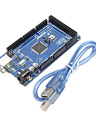 Improved Funduino Mega 2560 R3 Module  for (For Arduino) (Compatible with Official (For Arduino) Mega 2560 R3)