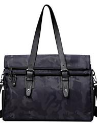 Formal / Casual / Oficina y Trabajo - Tote / Bolsa de Portátil / Cross Body Bag - Tejido Oxford - Azul - Hombre