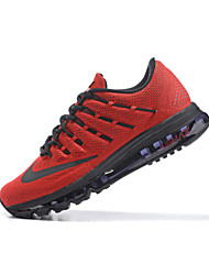 nike air max mannen indoor pumps leer rood